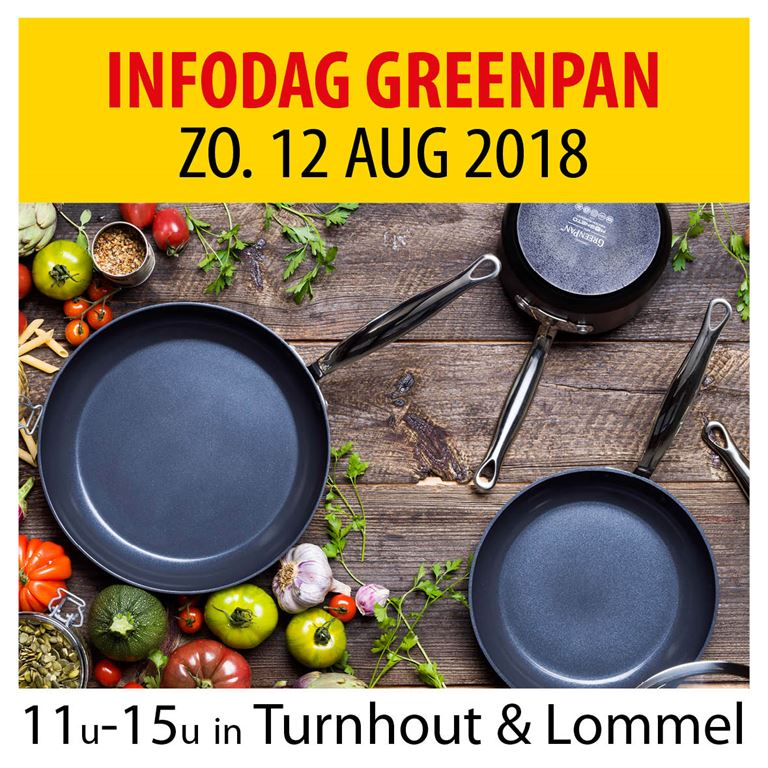 Infodag GreenPan