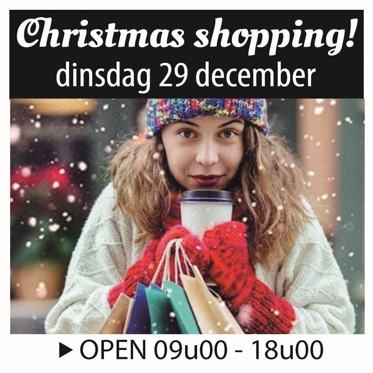 Christmas shopping!