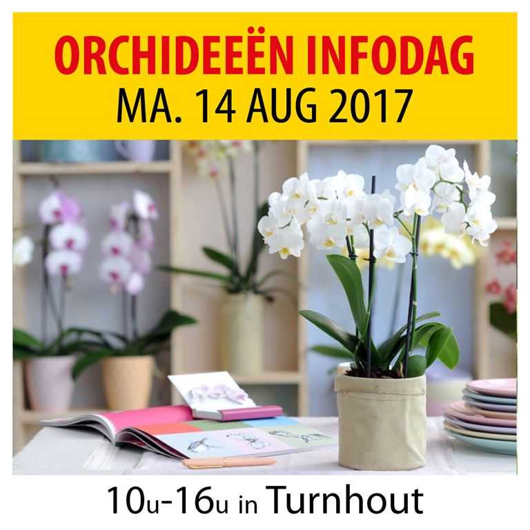 Orchideeën infodag Turnhout