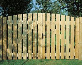 Tuinpoorten hout