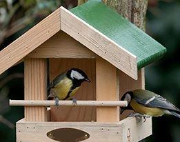 Voeder- & Vogelhuisjes