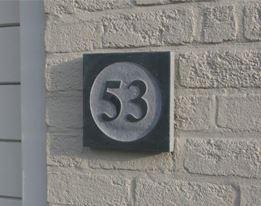 Huisnummer & Naamplaten